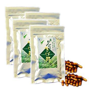 にんにくきび酢カプセル 4袋セット(1袋30粒入) B007VK7GQS