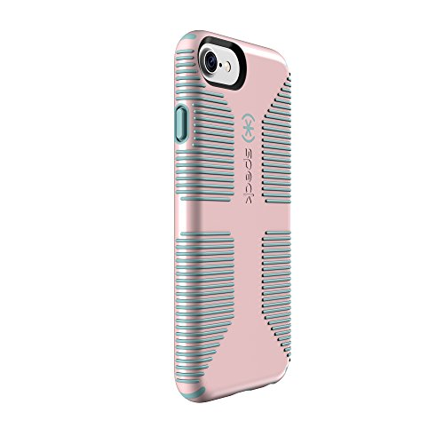 hot sale online def64 54203 Speck Products CandyShell Grip Cell Phone Case for iPhone 7/6S/6 - Quartz  Pink/River Blue