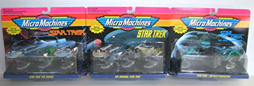 Next Generation Micro Machine (Micro-Machines Star Trek Set of 3 - Star Trek The Movies, The Original Star Trek, Star Trek The Next)