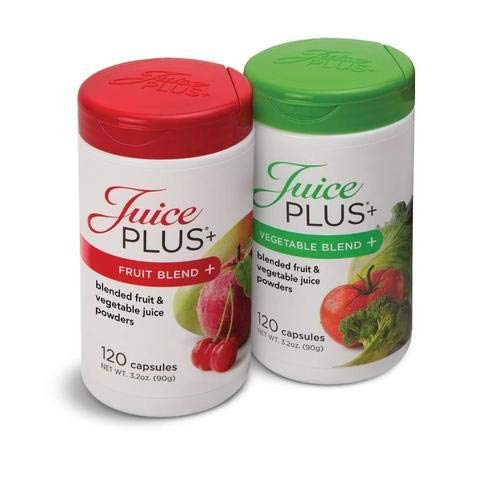 Juice Plus Orchard & Garden Blend 120 capsules 2 Pack (120 capsules of each) by Juice Plus