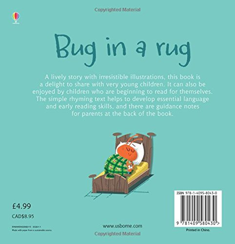Bug In A Rug (Phonics Readers): Russell Punter: 9781409580430: Amazon.com:  Books