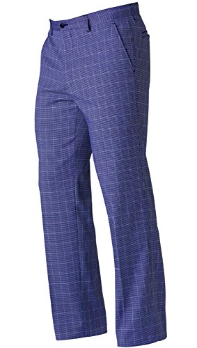NEW FootJoy Performance Houndstooth Navy Golf Pants Mens 34x32 (Footjoy Performance Pant)