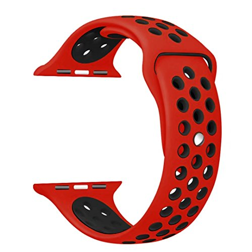 StarMoring Silicone Sport Replacement iWatch