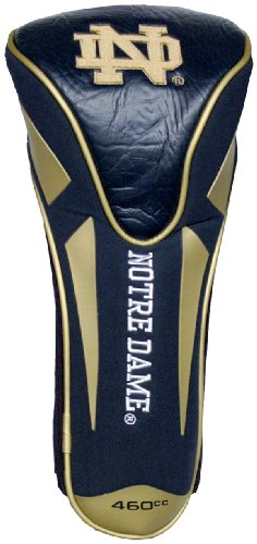 Team Golf NCAA Notre Dame Fighting Irish Golf Club Single Apex Driver Headcover, Fits All Oversized Clubs, Truly Sleek Design