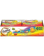 Goldfish Colours Crackers, 6 Snack Packs, 26 Grams