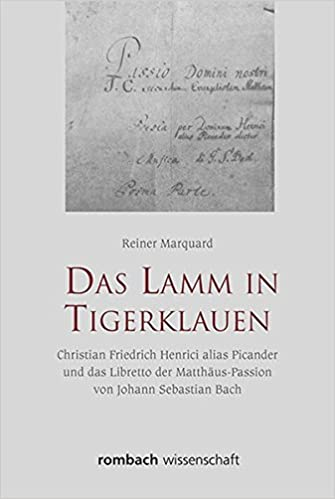 Book Das Lamm in Tigerklauen