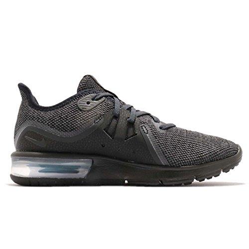 3 Black Running Air Nike Noir 010 de Anthracite Femme Max Sequent Chaussures zOzYtqd