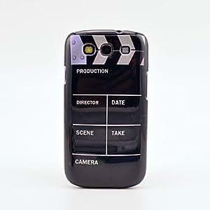 CL - Maple Leaf Patrón de cuero Samsung Mobile Phone Cases para Galaxy S3/9300 (6 colores) , Rojo