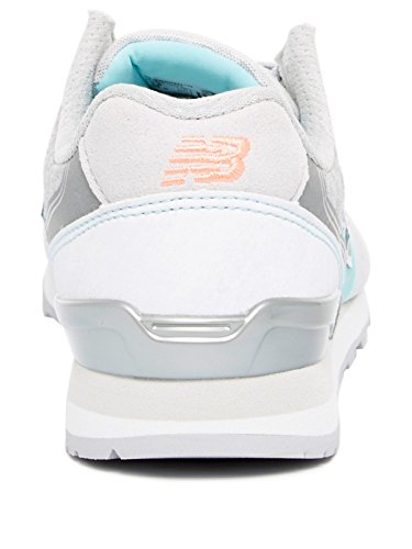 New Balance WR996-NOB-D Sneaker Damen Grau / Türkis