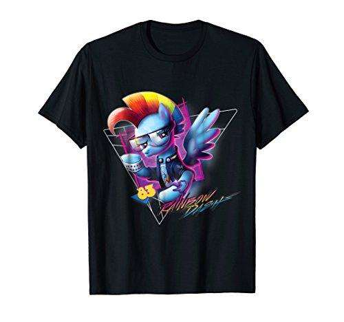 My Little Pony Rainbow Dash 80's -