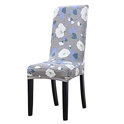 Amazing Uxcell Dining Chair Cover Stretch Bar Stool Slipcover Kitchen Chair Protector Spandex Pattern Chair Seat Cover For Home Decorative Dining Download Free Architecture Designs Intelgarnamadebymaigaardcom