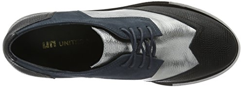 United Nude Women's Geo Wing Mid Derbys Blue (Indigo Silver) cheap sale get authentic free shipping prices pick a best cheap price ztJ4aXn8NV