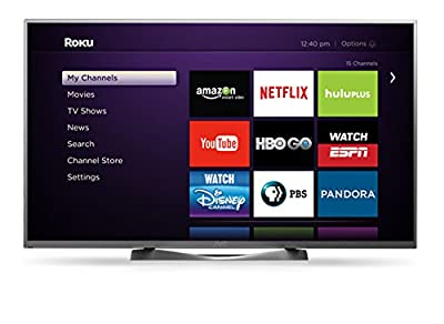 "JVC DM65USR 65"" 4K Ultra HD 120Hz LED TV with Roku"