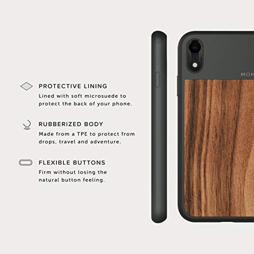 Wood iphone x case camera