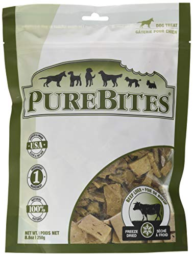 Dog Liver Cookies - Purebites Beef Liver For Dogs, 8.8Oz / 250G - Value Size
