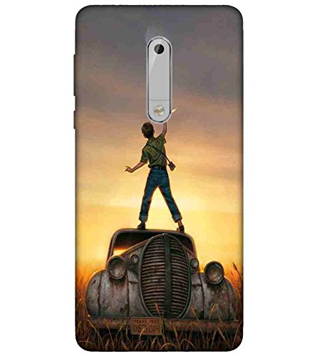 low priced e3e01 16ffe For Nokia 5 car Printed Cell Phone Cases, vintage car: Amazon.in ...