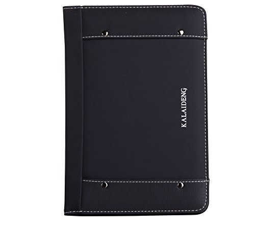 Raydes iPad Mini Case - KLD/Kalaideng the Me Series Case - Lightweight, Premium PU Leather, Folio Smart Stand Case Cover with Credit Card Holder and Grip - DarkGray Kalaideng Leather