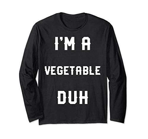 Halloween Easy Vegetable Costume Long Sleeve Shirt ()