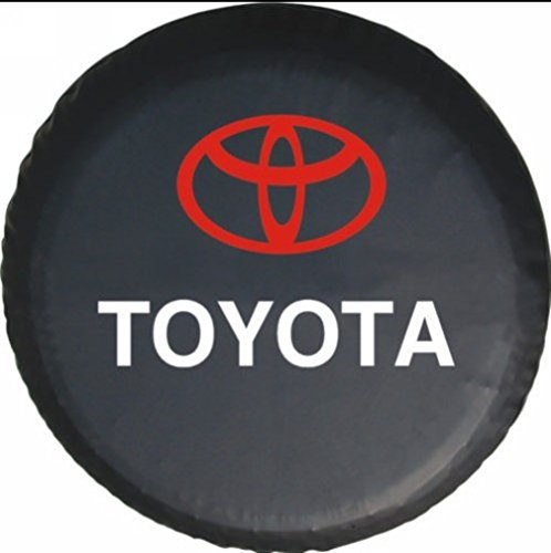 Bobbycool 15 Inch New Universal Spare Tire Type Cover Wheel Covers For TOYOTA RAV4 Highlander Land Cruiser