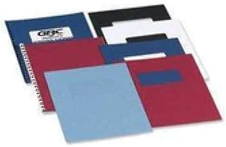 GBC CE040030 - Portada de encuadernación ANTELOPE símil piel 250 grs DIN A4 (Pack 100) color rojo: Amazon.es: Oficina y papelería