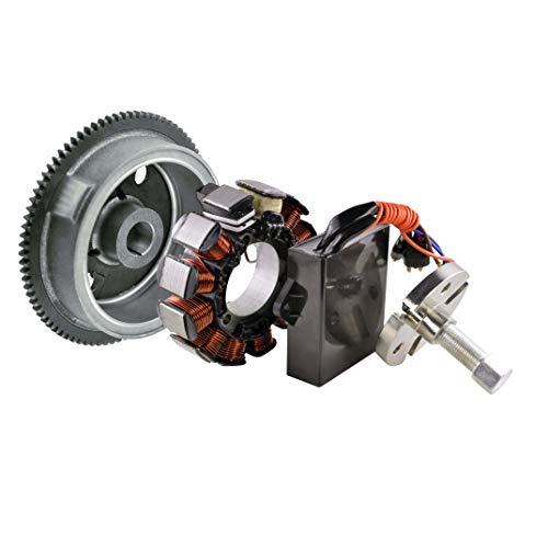 Kit Generator Stator + Flywheel + Puller + AC to DC Ignition conversion kit For Polaris Sportsman 500 6x6 Ranger 500 Series 10 4x4 2002 2003