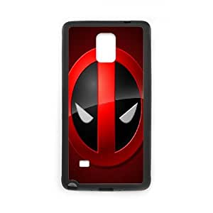 Samsung Galaxy Note 4 Cell Phone Case Black Deadpool Personalized Phone Case Cover For Women CZOIEQWMXN0804