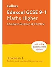 Edexcel GCSE 9-1 Maths Higher All-in-One Complete Revision and Practice: Ideal for home learning, 2022 and 2023 exams