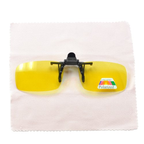 01468db785 Clip On Night Driving Glasses   Day Driving Glasses UV Protected   Reduce  Glare From Headlamps