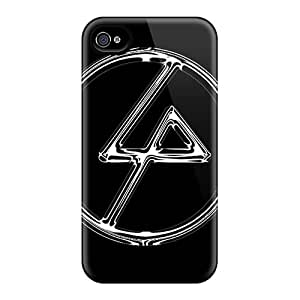 Protective Hard Cell-phone Case For Iphone 6plus With Allow Personal Design Nice Linkin Park Pictures KennethKaczmarek