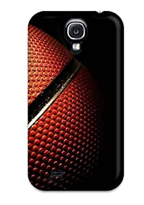 Durable Basketball For Computer Back Case/cover For Galaxy S4