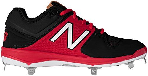 Black Metal Balance Men's Baseball New Shoe Red L3000v3 w1BxRY