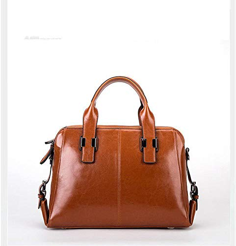 Vintage Leather B Diagonal Cross Cowhide Fashion Bag Bag Single Shoulder Woman Pack Hongge Handbag Lady F8Twqt6