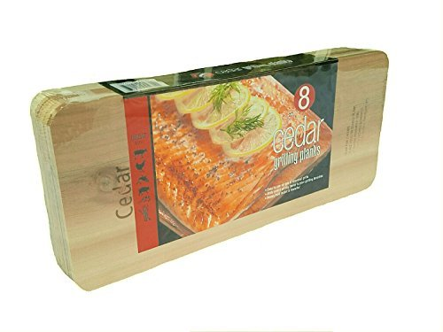 Coastal Cuisine Large Cedar Grilling/Barbecue Planks Set of 8