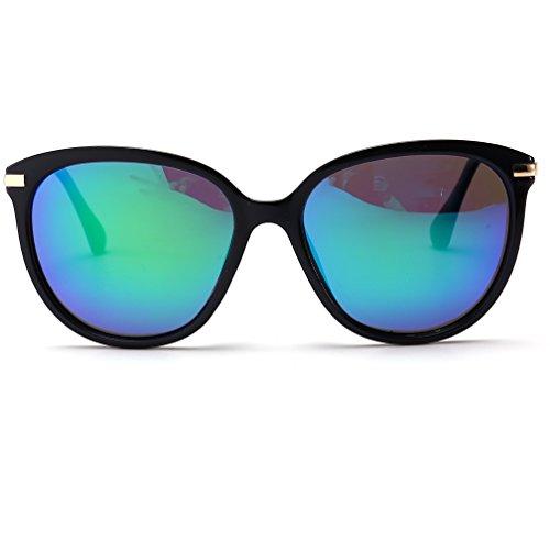 Womens Polarized Sunglasses Cat Eye Sunglasses Aviator Wayfarer Sunglasses+Case