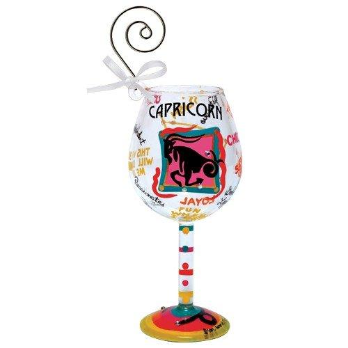 Santa Barbara Design Studio Lolita Holiday Mini-Wine Ornament, Capricorn