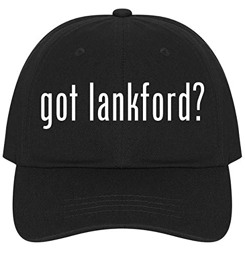 (The Town Butler got Lankford? - A Nice Comfortable Adjustable Dad Hat Cap, Black)