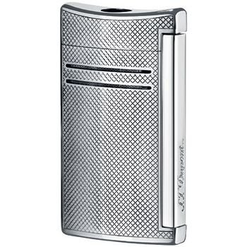 S.T. Dupont Maxijet Lighter Torch Flame - Chrome Grid by S.T. Dupont