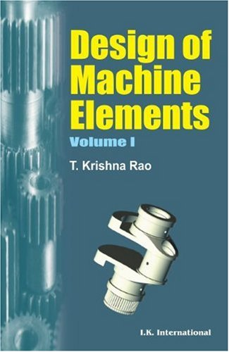 Download Design of Machine Elements Volume One pdf epub