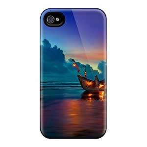 Ipod Touch 4 Cases Covers Skin : Premium High Quality Sunset Cases