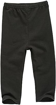 Pantalones leggins Babiesnature para bebés, color negro, de ...