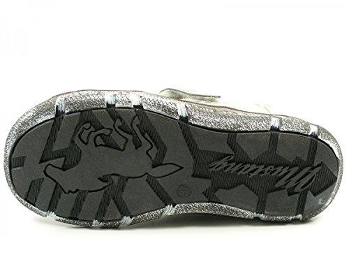 Mustang 1110-404-21 Zapatillas para mujer Silber