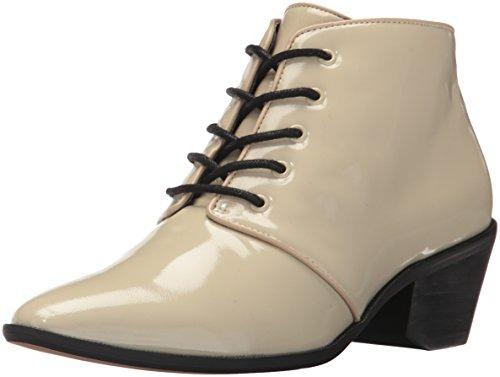 Bootie Ankle Wright Women's B Nina Ecru Original wqx1tfxIE5