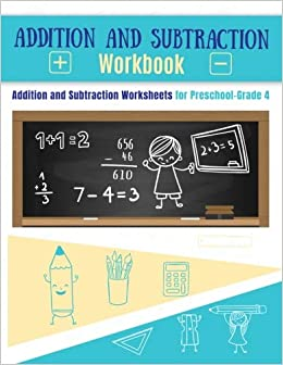 Addition Workbook And Subtraction Workbook Addition