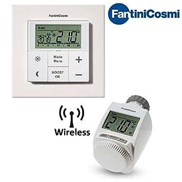 Valvole termostatiche con termostato termosifoni in for Testina termostatica