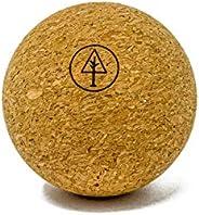 "Rawlogy Rustic Ultralight Cork Massage Ball (Classic 2.5"") for Legs, Back, Butt, and Larger Mu"