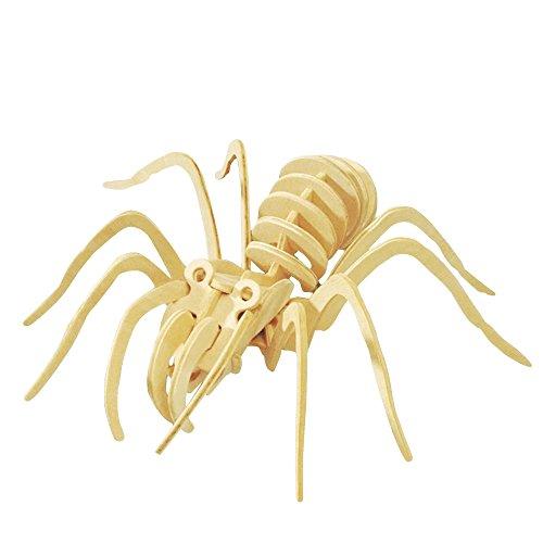 Hands Craft JP205 DIY 3D Wooden Puzzles (Spider)