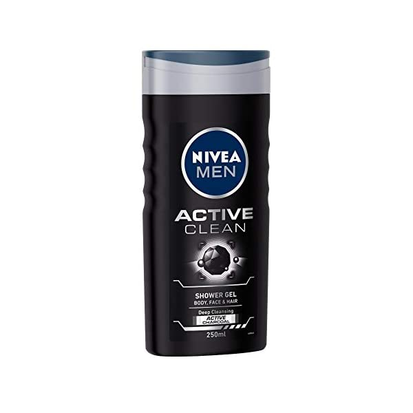 NIVEA Men Shower Gel, Active Clean Body Wash, Men, 250ml And NIVEA Body Lotion, Whitening Cool Sensation, SPF 15, For… 2021 August Quantity: 250ml; Item Form: Foam The caring formula lathers into a rich foam and does not strip the skin of essential moisture Result : Leaves your skin and hair feeling refreshed, revitalized and deeply cleansed