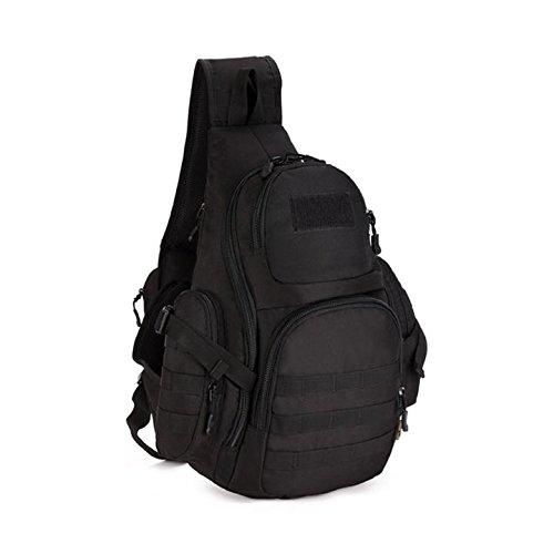 Huntvp Tactical Military Daypack Sling Chest Pack Bag Molle Laptop Backpack Large Shoulder Bag Crossbody Duty Gear For Hunting Camping Trekking