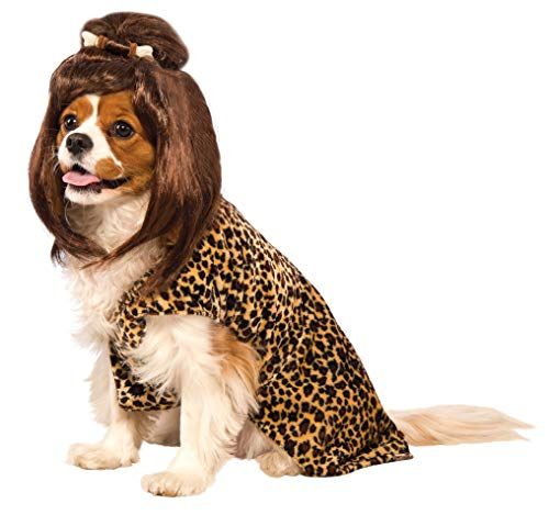 Rubie's Cave Girl Pet Costume and Wig, Small]()
