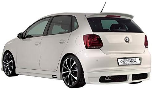 ABS de Haute qualit/é,Red Spoiler arri/ère Oettinger pour Volkswagen Polo ann/ée 2010-2019 amorce de Spoiler ou aileron arri/ère de Voiture Couleur DIY pour Polo